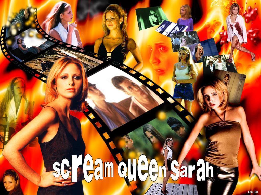 Wallpaper Sarah Michelle Gellar un paquet de sarah