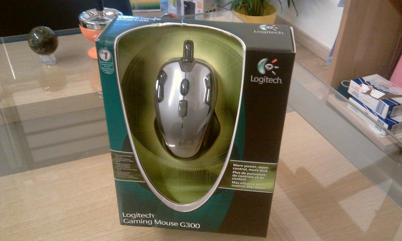souris jeux Logitech G300 Optical Gaming Mouse à 36 €