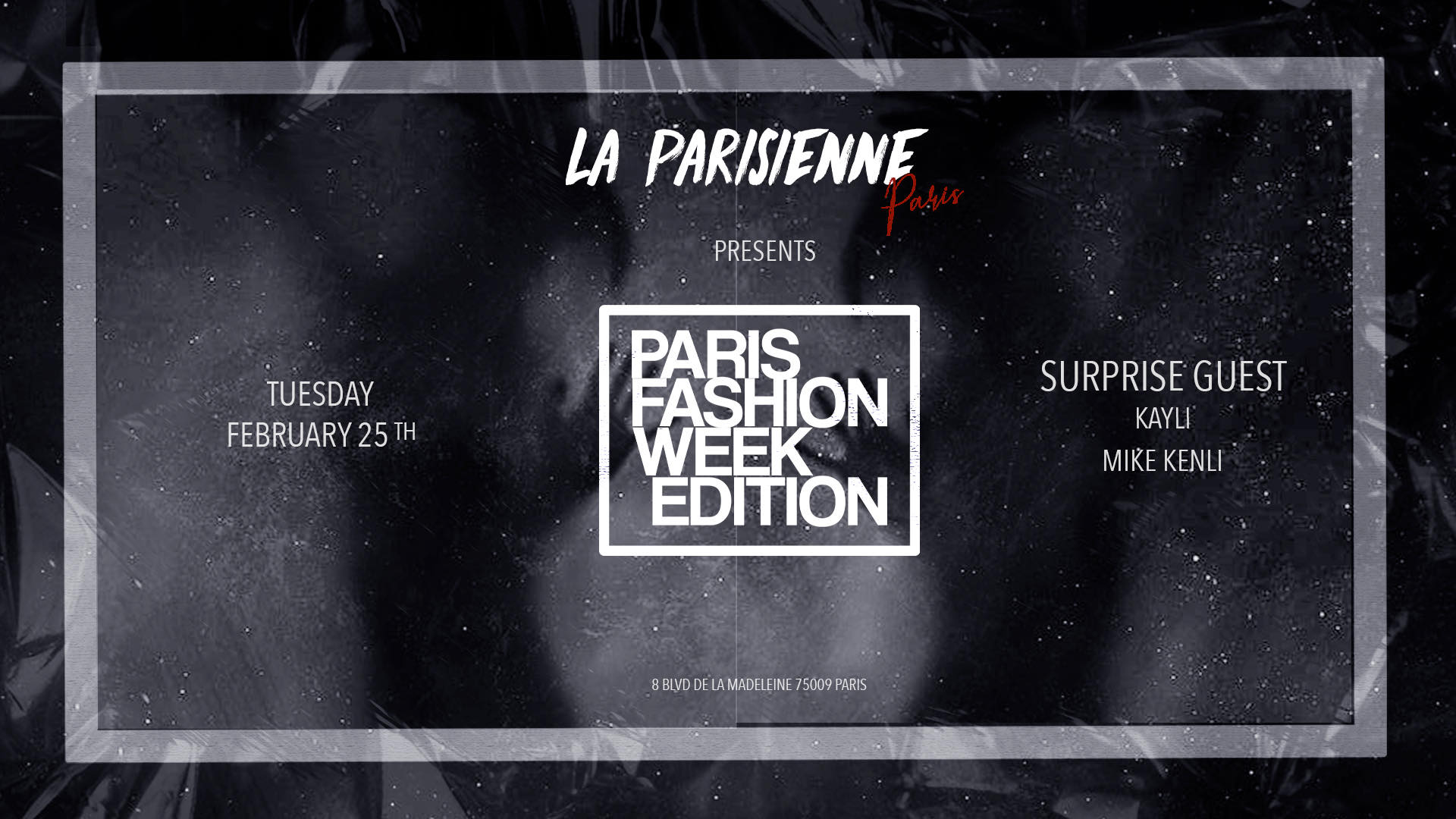 La Parisienne - Paris Fashion Week - Tue Feb. 25th
